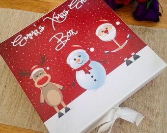 Christmas Eve box gift box