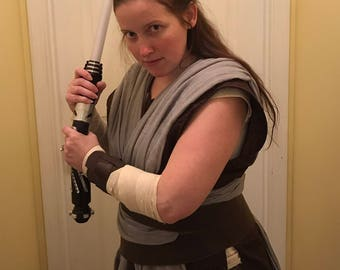 Hero Rey Inspired Last Jedi Costume or Cosplay Adult