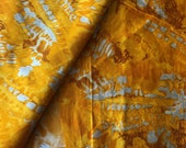 Shibori Style Printed Fabric, Indian Cotton, Fabric by the yard, Abstract Watercolor Print Fabric, Sewing and Quilting Fabric, Indian Fabric