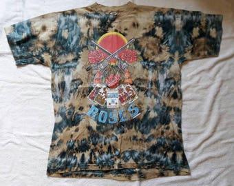 Rare Vintage 1990s Guns N Roses T Shirt. 1992