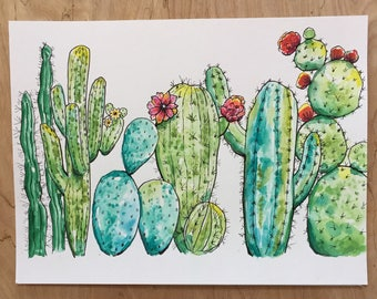 Desert Cacti