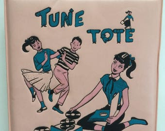Tune Tote by Ponytail With Ten 45 Records