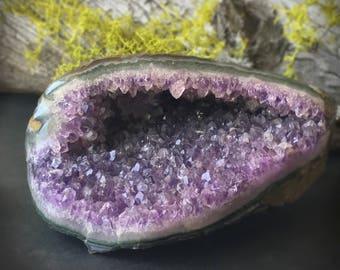 Amethyst Polished Decorator Mini Cave Geode
