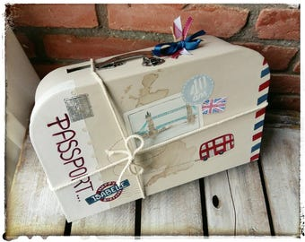 "Suitcase birthday ""So British"" (medium)"