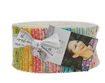 Home Sweet Home Jelly Roll - Stacy Iest Hsu - Moda Fabric - 40 pieces