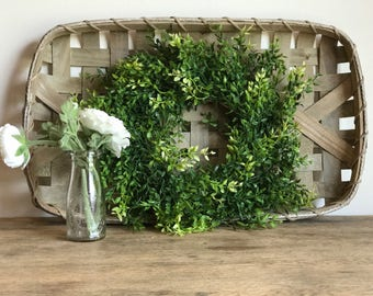 FREE SHIPPING! Combination Wreath and Tobacco Basket
