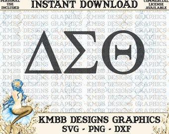 Instant Download - Personal Use - Sorority Delta Sigma Theta - SVG PNG DXF - Cut cutting File, svg files, Shirt Cup Design Wall Art