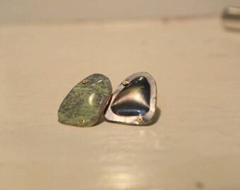 Aluminium odd matching earings