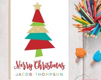 Jacob Thompson Christmas Card for Shriners Cancer Hospitals / Maine Medical Center