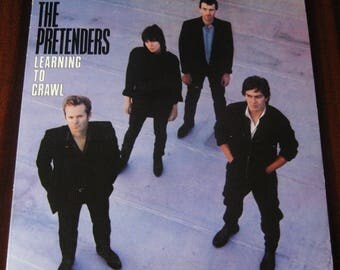 Learning To Crawl by The Pretenders Vintage Vinyl LP VG+ 1982