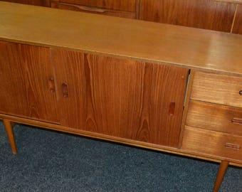 Vintage Danish design sideboard 60s