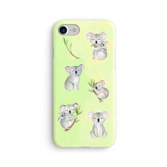 Koalas everywhere watercolor - iPhone 7 case, samsung s7 case, iphone 7 plus case, iphone se case 1P066