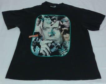 Vintage David Bowie Sound + Vision 1990 World Tour Tshirt Size XL
