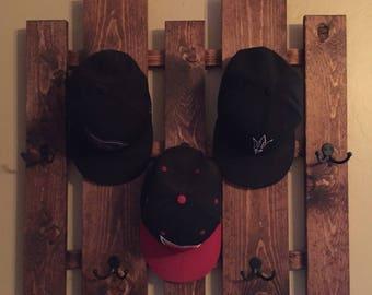 Hat rack, coat rack, purse rack. Home organization solution