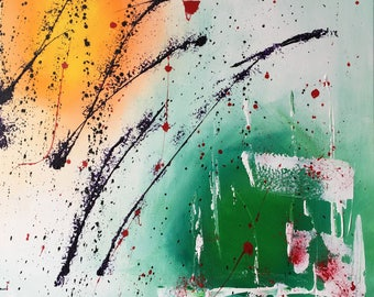 Abstract painting painting handmade