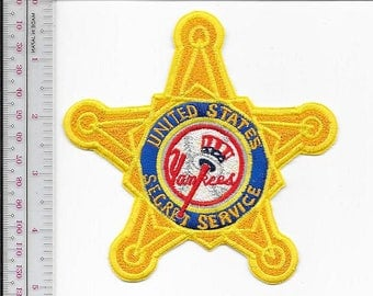 US Secret Service USSS New York City Field Office Agent Service NY Yankees Patch