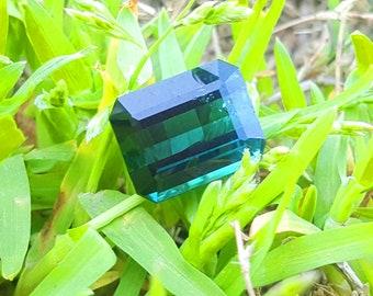 WOW 6.80 Carats Beautiful Blue Color Loose Gemstone Tourmaline@Afghanistan