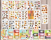 FALL STICKER WALLET perfect for all planners