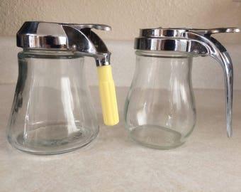 Dripcut Syrup Jars Dispensers