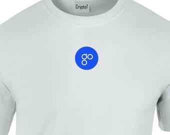 CryptoT OmiseGO OMG Logo Tshirt