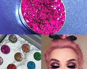 SPARKLY PRESSED GLITTER Eyeshadow Cosmetic Makeup (Berry Nice To Meet Ya) uk