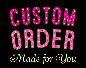 Custom Wedding Invitation Deposit for Kat & Marco