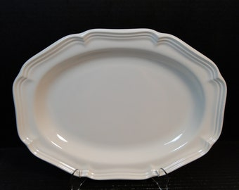 "Mikasa French Countryside Oval Serving Platter 14 5/8"" F9000 EXCELLENT!"