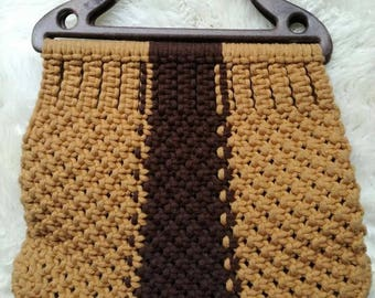 70s vintage handbag handmade bag boho bag bohemian bag