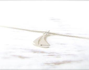 Sailing boat | Necklace | Silver 925