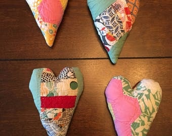 Quilted Heart Posing Pillow/Posing Pillow/Heart Posing Stuffie