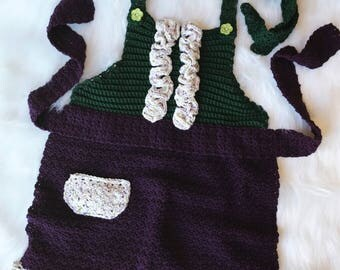 Child's Crochet Apron