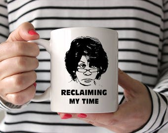 Maxine Waters, Political Mug, Reclaiming my time, Maxine Waters, Auntie Maxine Mug, Maxine, Maxine Waters Coffee Mug, Maxine Political Mug