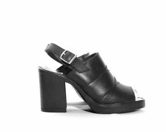 FLASHSALE50% Vintage Leather Chunky Shoes