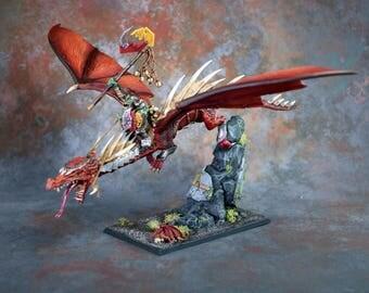 Warhammer Orruk Dragon Rider