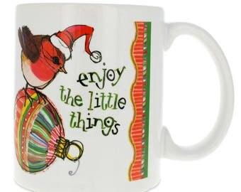 """4"""" Enjoy the Little Things Coffee Mug"""