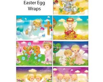7 Sweet Angels Easter Egg Wraps