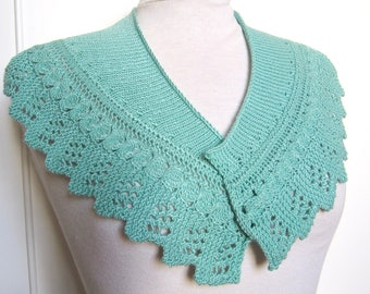 Mini openwork border stitches fancy shawl