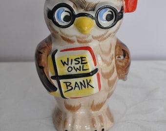 Owl Money Box Etsy