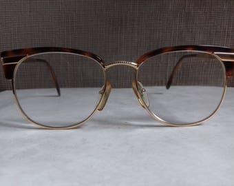 Vintage Eyeglasses Senator-Classy glasses from 80's-Rare.