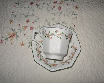 Eternal Beau Johnson Brothers Cup and Saucer Set... Made In England