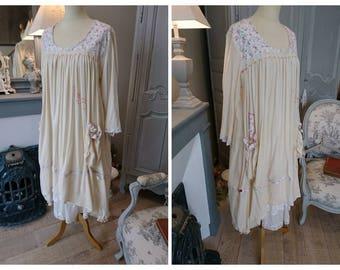 ECRU cotton ALICE dress