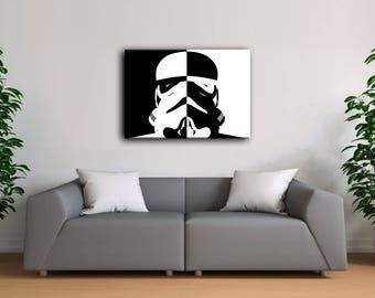 Stormtrooper helmet Poster, Star wars Stormtrooper, Star wars  minimalist, Stormtrooper art, Stormtrooper poster, Star Wars wall art