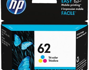 HP 62 Tri-color Original Ink Cartridge - C2P06AN#140