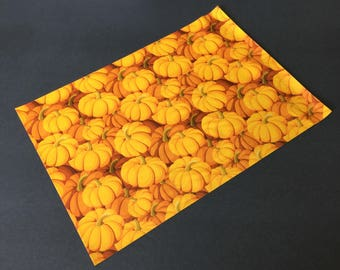 100 Designer PUMPKIN Poly Mailers 10x13 Envelopes Shipping Bags Fall Halloween