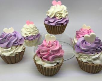 Cupcake di sapone
