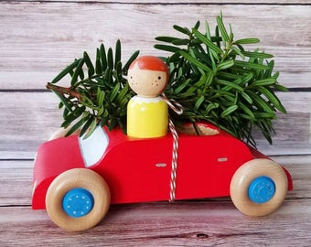 Personalized Peg Dolls and Cars!