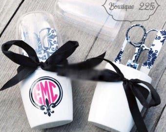 Personalized manicure set--stocking stuffer