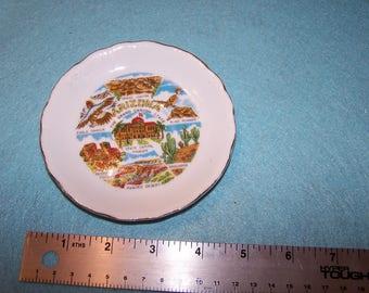 Arizona The Grand Canyon State Souvenir Plate