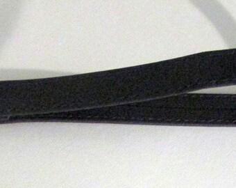 Leather Clutch Strap, Wristlet strap, Black Wristlet, Leather Wrist Strap, Wristlet Strap for Clutch, Wrist Strap Replacement, Strap