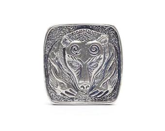 Silver Buckle Bear